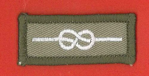 Commissioner LEADERSHIP MEDAL Emblem Patch Scout Leader SCOUTS OF BELIZE