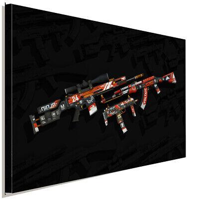 Counter Strike Global Offensive Leinwandbild AK Art Studio Wanddeko Wandbild XXL
