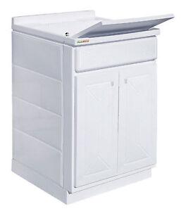 Lavandino Per Esterno In Plastica.Mobile Lavatoio In Resina Pilozza Lavapanni Pvc Lavanderia Lavello