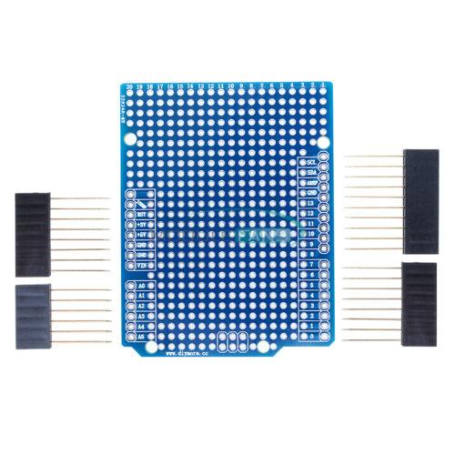 Pour Arduino UNO R3 Shield Prototype PCB ATmega 328P MEGA 2560 2.54 mm Maquette