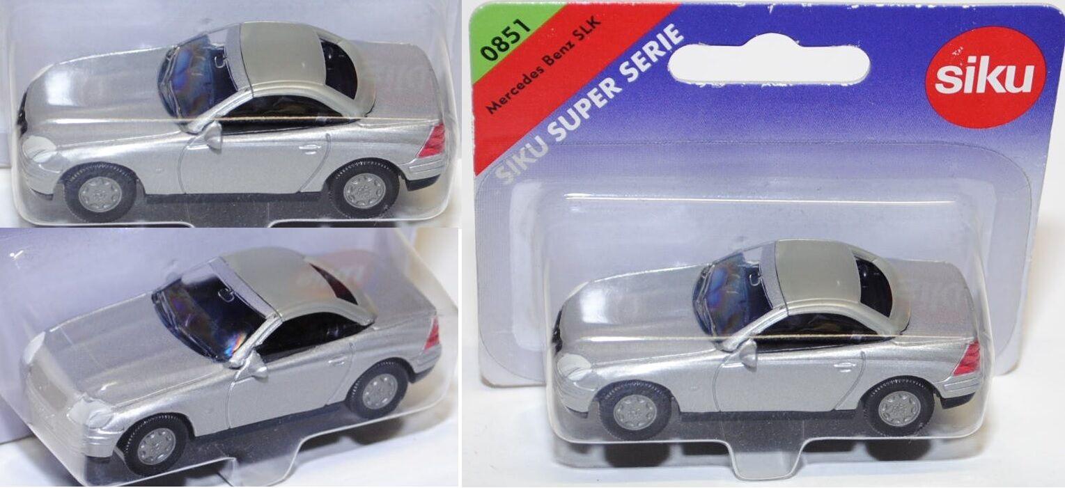 Siku Super 0851 Mercedes-Benz SLK 230 compresor aprox 1:55