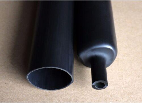 Φ39mm Dual Wall Adhesive Lined 3:1 Black Heat Shrink Tubing Sleeve Cable 1-20M