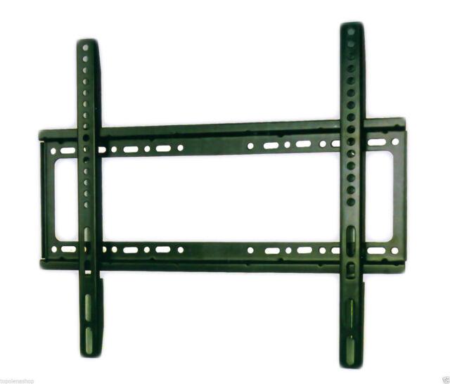 """PDR*SUPPORTO STAFFA PARETE TV LCD PLASMA DA 26"""" A 55"""" POLLICI VESA 110LBS 50 KG"""