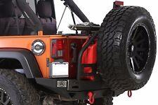 Smittybilt 76896 XRC Atlas REAR Bumper With Tire Carrier 07-17 Jeep Wrangler JK