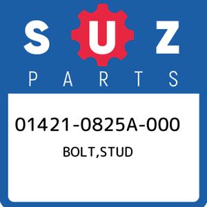01421-0825A-000-Suzuki-Bolt-stud-014210825A000-New-Genuine-OEM-Part