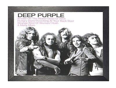 10 English Heavy Rock Band Star Classic Music Legends Poster Photo Deep Purple