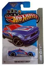 2013 Hot Wheels #14 HW City HW Rescue Ford Mustang GT Concept treasure hunt