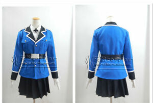 APH Axis Powers Hetalia Seychelles Cosplay Costume Cosonsen Blue Dress