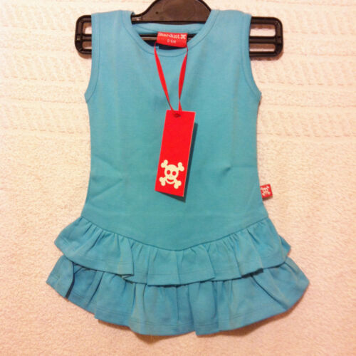 Kids Girls Toddler Baby Cute Sleeveless Blue Tiered Party Summer Dress Up