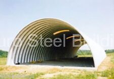 Durospan Steel 33x48x15 Metal Diy Arch Building Kits Open Ends Factory Direct