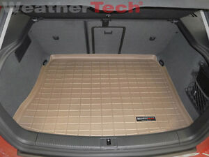 2013-2018 WeatherTech Cargo Liner Trunk Mat for Ford C-Max Tan