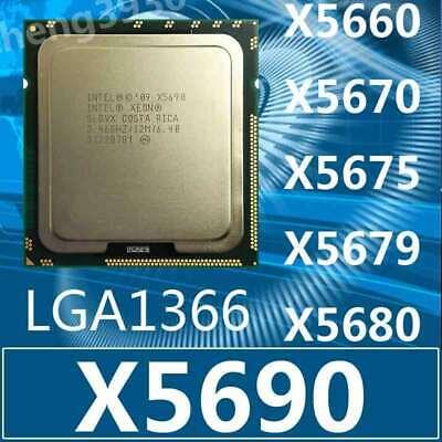Intel Xeon L5640 E5645 X5650 X5670 X5675 X5680 X5690 Processor LGA1366 Wholesale