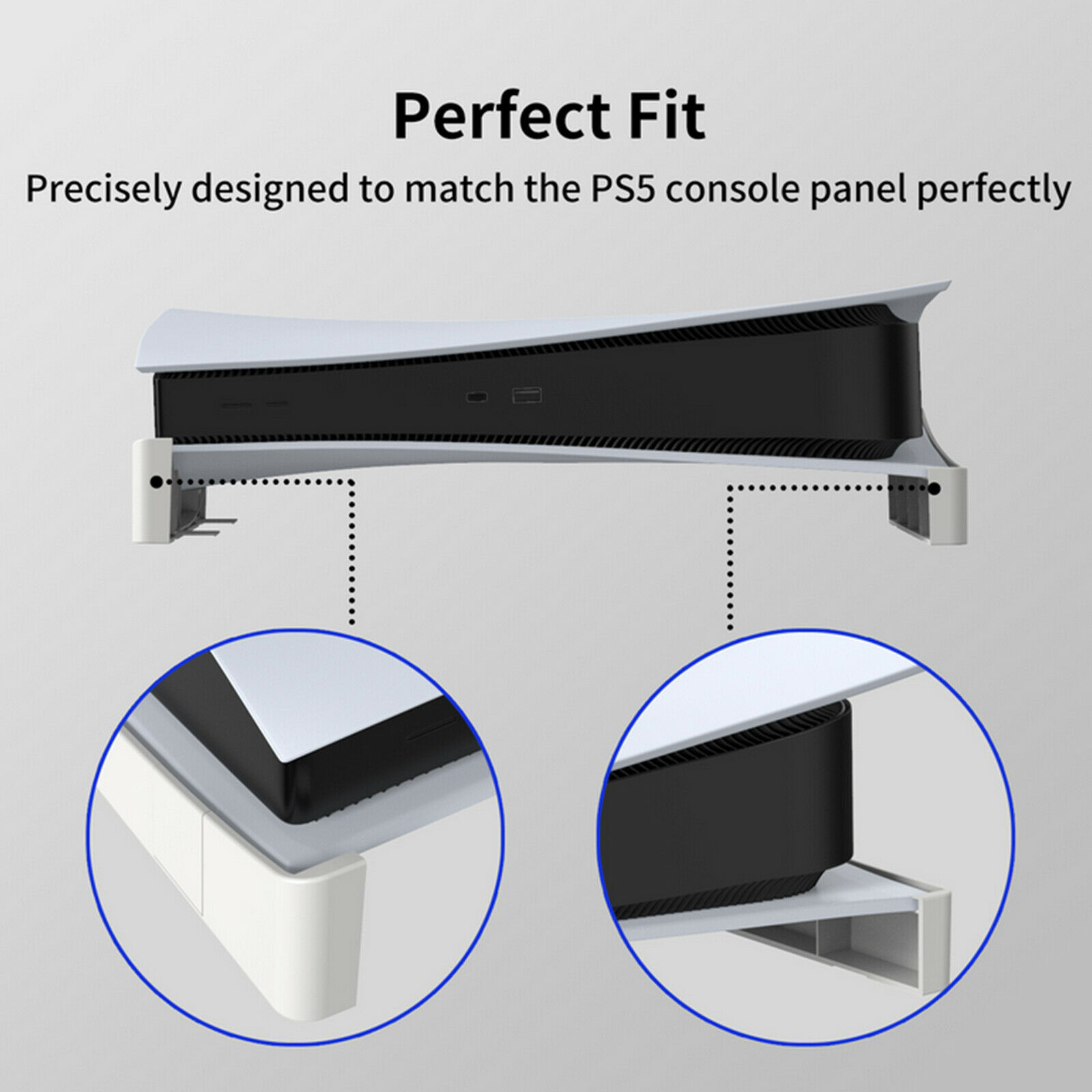 Host Horizontal Bracket Desktop Cooling Stand For Sony Playstation 5 PS5 Console