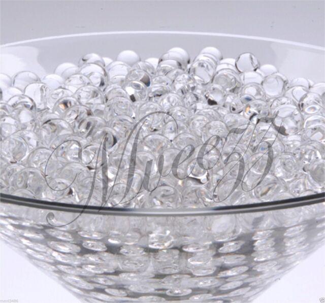 400 Water Beads Crystal Bio Soil Gel Ball Wedding Vase Vase Filler