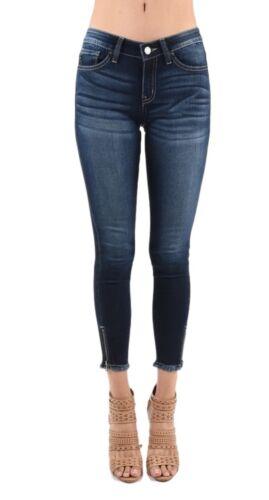 Jeans Kc6051dh Mid Marisa Wash Dark Zipper janina Skinny Ankle Kancan gqOwdO