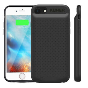 pretty nice 88cf5 83874 Details about External Smart TPU Battery Charger Case Power Bank For  iPhone6 6S 7 Plus 8 Plus