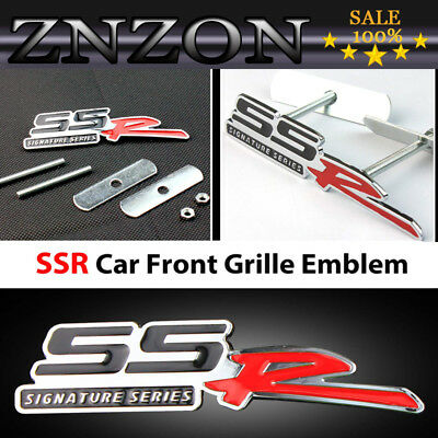 New  3D Metal NISMO Logo Rally Racing Front Grill Grille Badge Emblem