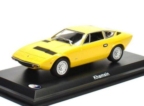 Maserati Khamsin 1973 Yellow MAS024 ALTAYA 1:43 New