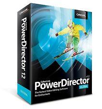 CyberLink PowerDirector v12 Ultra - Video Editing Software