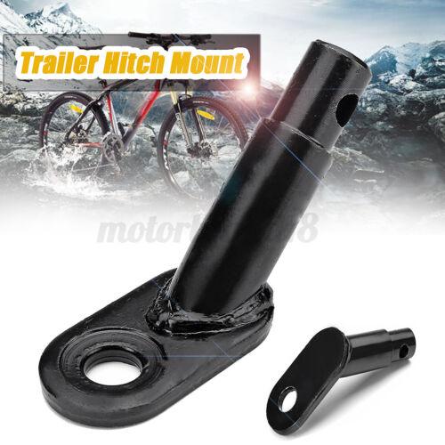 Bike Bicycle Trailer Coupler Steel Trailer Hitch Mount Adapter Replacemen