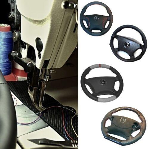 Wir beziehen Ihr Lenkrad neu mit Leder Mercedes W221 S-Klasse