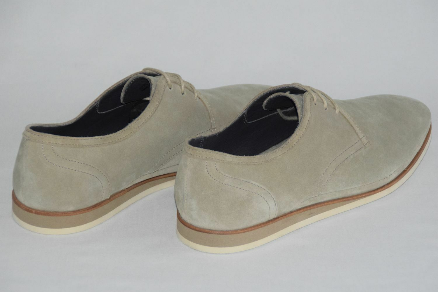 HUGO BOSS SCHUHE, Mod: Ecleder, Gr. Gr. Gr. EU 44,5 / UK 10,5 / US 11,5, Light Beige 854e12