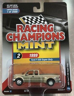 RACING CHAMPIONS MINT 1999 FORD F-350 SUPER DUTY,VER A,ONLY 2500 produced NEW