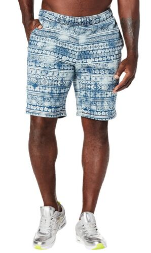 Zumba Mens Let/'s Scape Demim Daze  Shorts Large and XL NEW!!