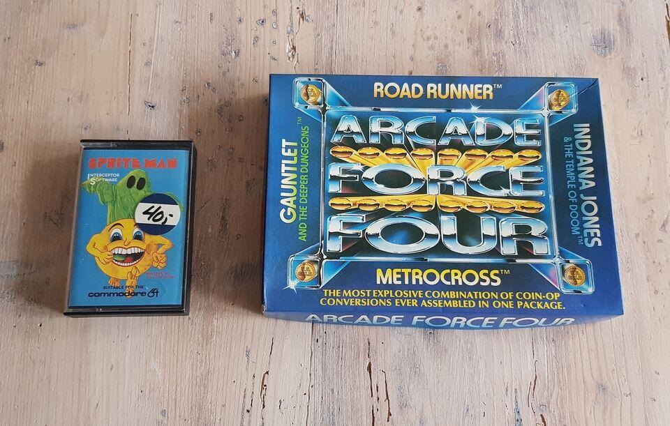 2 stk Commodore 64 spil, Commodore 64