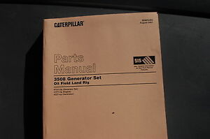caterpillar 3508 generator set engine parts manual book catalog land rh ebay com 3508 Caterpillar Marine Engine Specifications Caterpillar 3508 Generator Specs