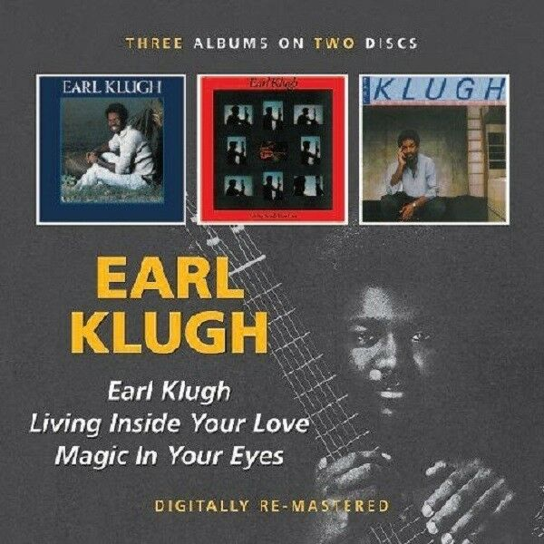 Earl Klugh Earl Klugh/Living Inside Your Love/Magic In Your Eyes 2-CD NEW SEALED