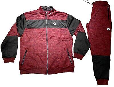urban hip hop jogging set Akademiks tracksuit premium streetwear grey black