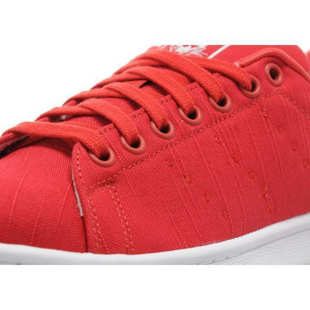 Adidas Originals ® Stan Smith Canvas  ® Originals ( Women Size UK 4 EUR 36.5 )  Cool Red NEW e986c2