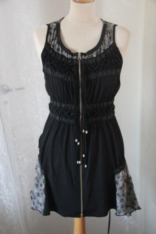 CREATIVE BY -  Tunique robe Chasuble Bahia Bahia Bahia nero et grigio Dimensione 42 neuf dcedba