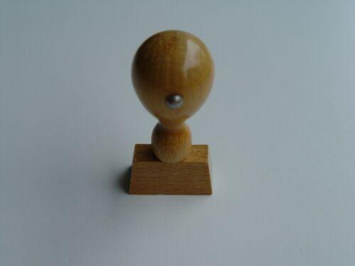 Diverse Holzstempel Stempelkörper Rohling Stempel 30x15 mm
