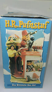 Hr Pufnstuf The Ultimate Box Set Vhs Sid Marty Krofft Rhino 4 Vhs