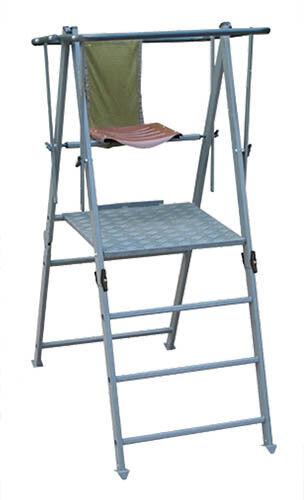 Fritz hombre ansitzstuhl 1,5m aluminio altamente asiento caza escalera asiento estaba alta