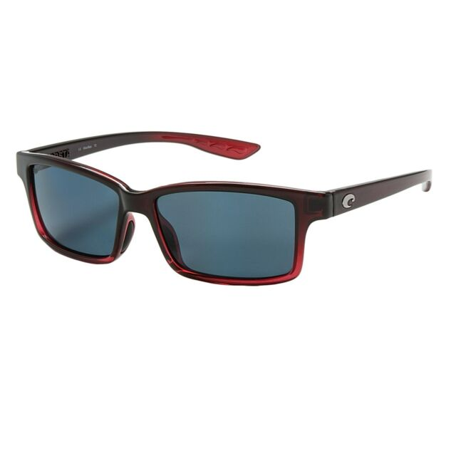 fb5865f18971a COSTA DEL MAR TERN POLARIZED SUNGLASSES TE48 OGP POMEGRANATE FADE GRAY 580P  LENS