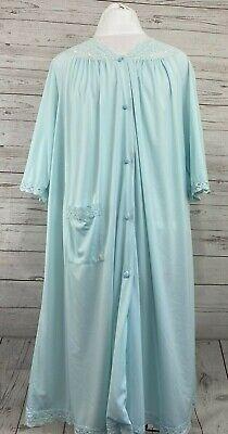 Shadowline light blue see thru robe.