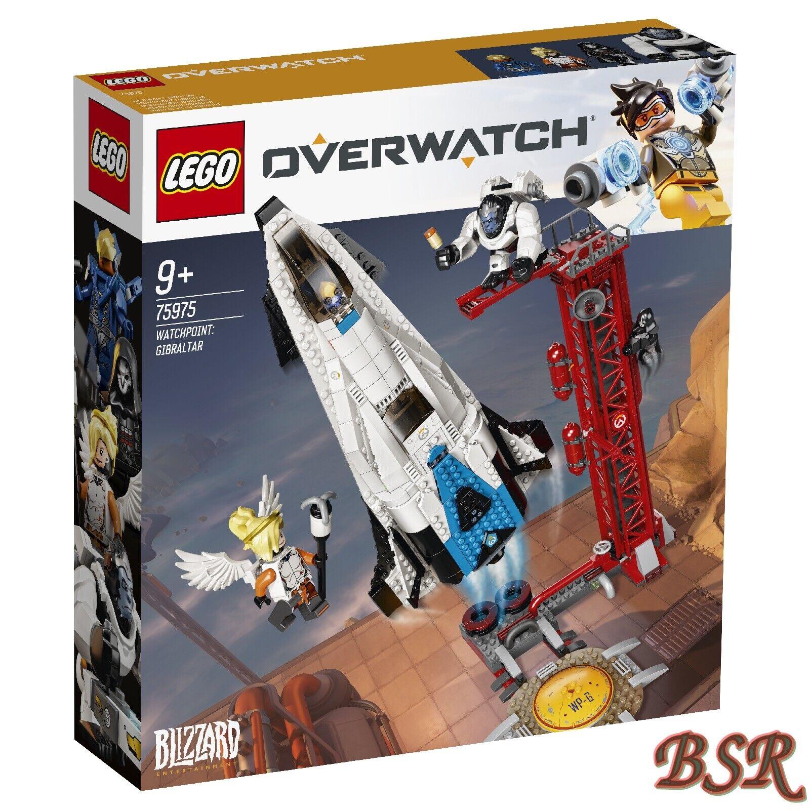 LEGO ® Overwatch  75975 watchpoint  Gibraltar & 0. - expédition & NOUVEAU & NEUF dans sa boîte