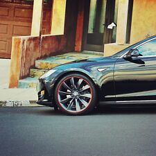 Tesla FELGENSCHUTZ & Styling Felgenschutzringe Roadster Model S P85 Performance