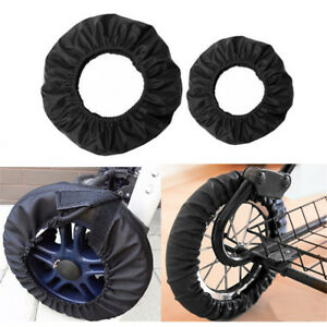 Baby-Stroller-Accessories-Anti-stain-Dust-Proof-Wheels-Covers-Car-Pram-Cover-x1
