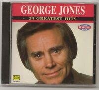 George Jones, Cd 24 Greatest Hits, Sealed