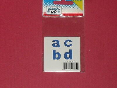 Gabarit de découpe hauteur lettre : 1,2cm Q, R, S, T pour machine Double Do