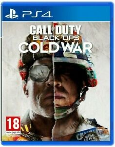 CALL OF DUTY BLACK OPS COLD WAR PS4 NOUVEAU JEU ITALIAN PLAY STATION 4 PS5 DVD