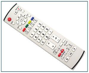 Ersatz TV Fernbedienung für Panasonic TH42PV60EH Fernseher