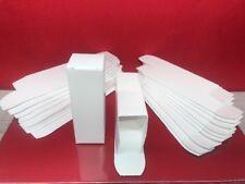 EMPTY WHITE VACUUM TUBE BOXES Small Octal  10 25 50 100 PCS 6SN7 6SL7 & More