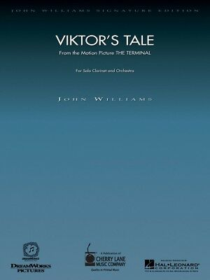 Viktor's Tale The Terminal Clarinet Instruction Books, Cds & Video Wind & Woodwinds Piano Reduction John Williams 000841984