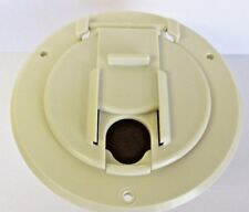 Valterra A10-2131VP Colonial White Universal Round Cable Hatch