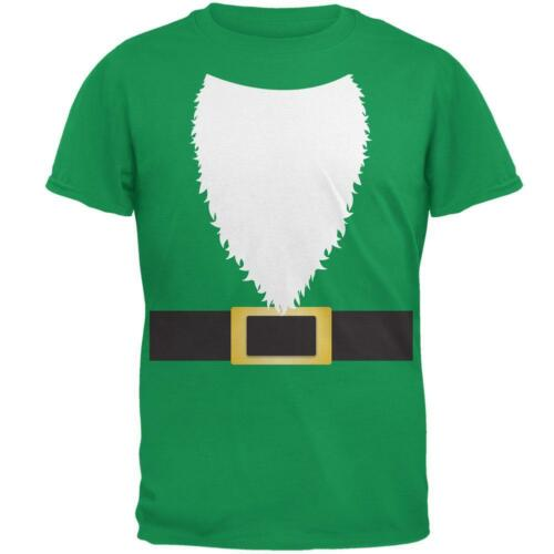 Halloween Lawn Gnome Costume Green Mens T Shirt